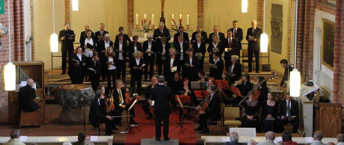 Sommerkonzert der Kyritzer Kantorei 2013