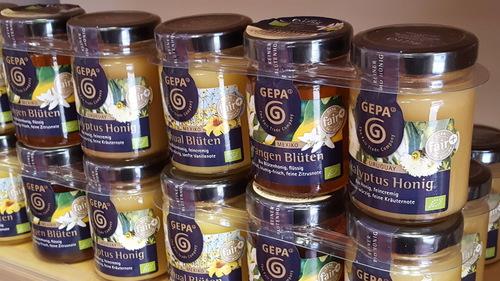 Verschiedene Honigsorten
