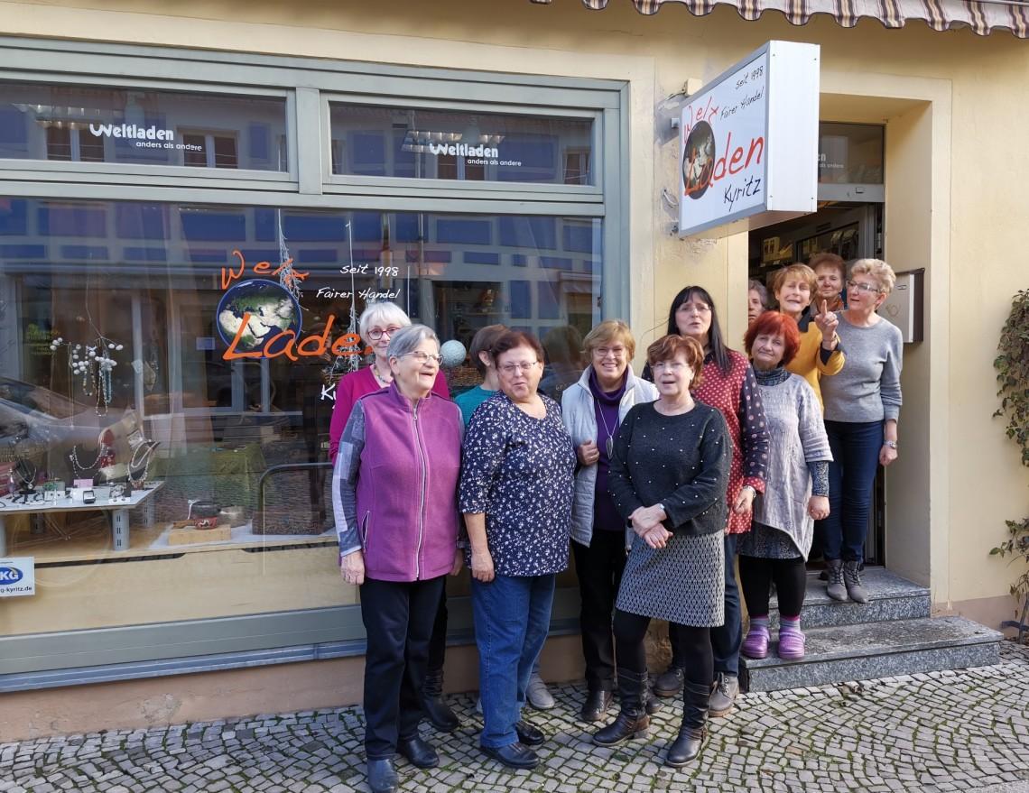 Team des Weltladens Kyritz